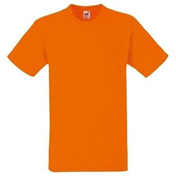 fruit of the loom orange t shirt size xxxl 50 52. Black Bedroom Furniture Sets. Home Design Ideas