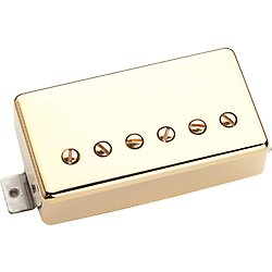 Model Pickup Bridge (Seymour Duncan SH-1b '59 Model 4-Conductor Pickup - Gold Bridge)