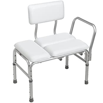 Amazon Com Carex Deluxe Padded Transfer Bench Health