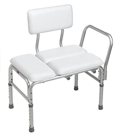 Amazon.com: Carex Deluxe Padded Transfer Bench: Health & Personal Care