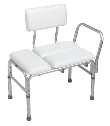 Deluxe Padded Bath - Carex Deluxe Padded Transfer Bench