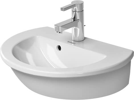 Duravit 0731470000 Handrinse basin 47 cm Darling New white, with of, with tp, 1
