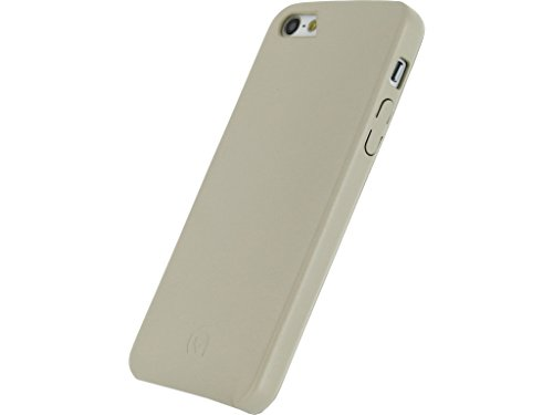 mobilize Leather Case Apple iPhone 5 5S se blanc