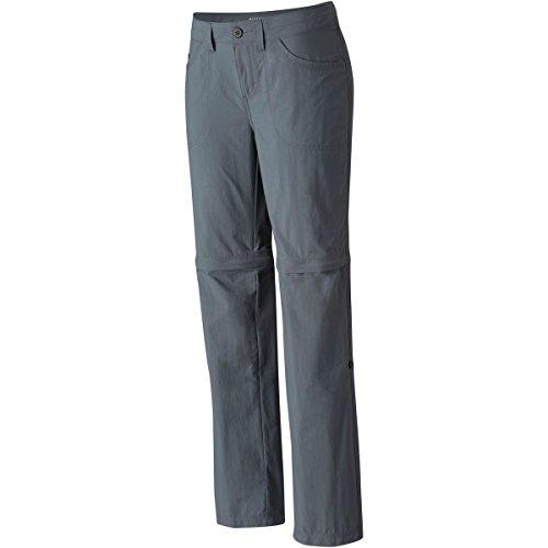 Mountain Hardwear Women's Mirada Convertible Pants, Graphite, 12x32