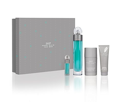 (Perry Ellis 360 Fragrance Set, 4 Count)