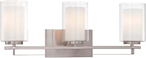 Minka Lavery 6103-84 Three Light Bath - Minka Lavery Vanity Lighting