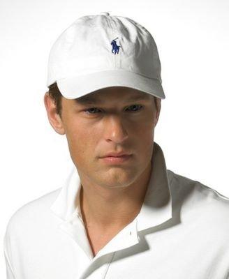 Polo By Ralph Lauren Baseball Cap Unisex/Adult (White)