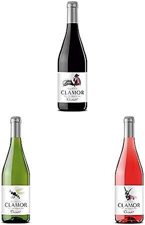 Raimat Clamor Tinto - Vino tinto + Vino Blanco + Raimat Clamor Rosado - Vino Rosado - 3x75cl