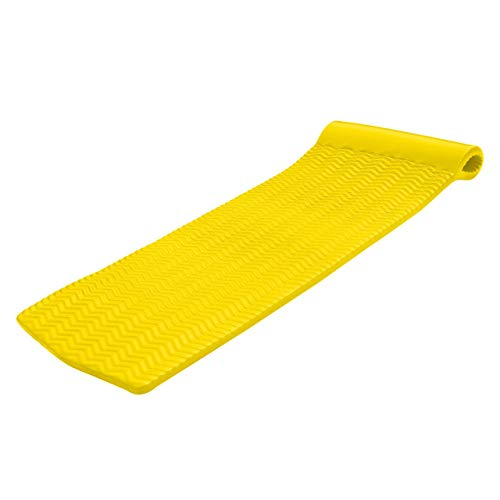 TRC Recreation Serenity Ripple Pool Float, Yellow