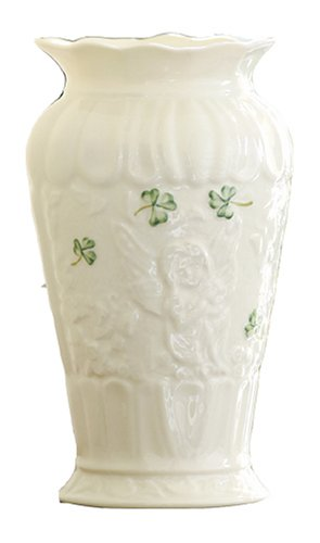 Belleek B2968 Fairy Glen 6.5-Inch Vase