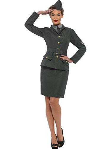 (Smiffys WW2 Army Girl Costume)