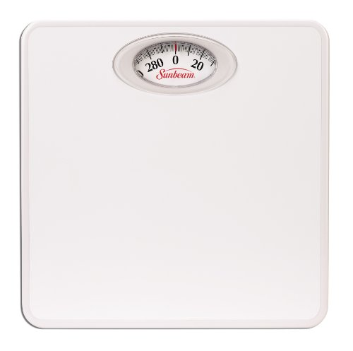 Sunbeam Health o meter Easy Read Dial Scale, White