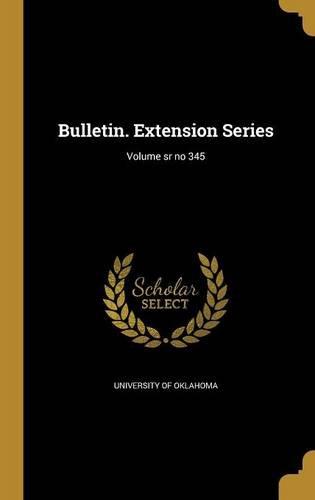 Download Bulletin. Extension Series; Volume Sr No 345 PDF