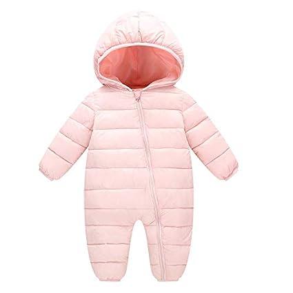 f87cca526ca6 Amazon.com  Vanvler Kids Rompers Winter -Cotton Warm Jacket Thick ...