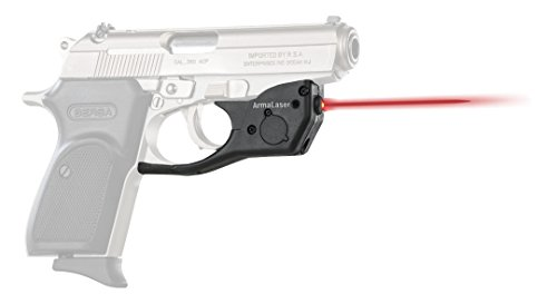Bersa Firestorm 380 - ArmaLaser Bersa Thunder 380 TR16 Super-Bright Red Laser Sight with Grip Activation