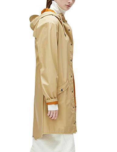 Long Impermeable Jacket Hombre beige Rains para Abrigo zBqHwWxqdO