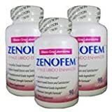 3 bottles Zenofem Female Libido Enhancer Intensify Sexual Arousal Boost Desire