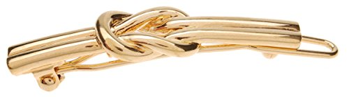 Price comparison product image L. Erickson Nautical Knot Metal Tige Boule Barrette - Gold