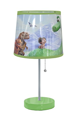 Disney Good Dinosaur Table Lamp Green by Disney