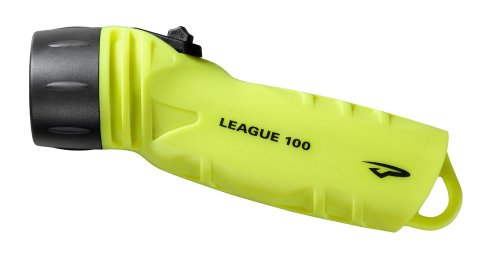 Princeton Tec AMP League LED Dive Light (260 Lumens, Neon Yellow)
