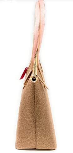 Kate Spade New York Glitter Joeley Tote Bag (Rose gold)