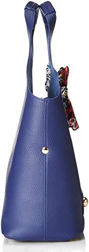 Love Pu Cartables Blu Moschino Borsa Bonded Bleu AgWqRArn