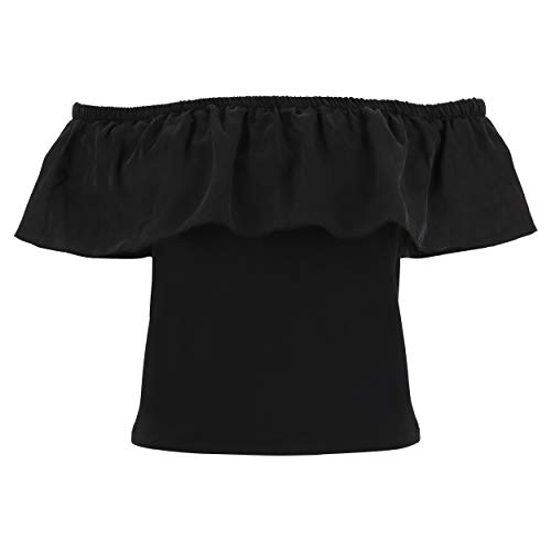 Camiseta Caídos M Con Hombros Freddy Negro c Pw8gA8xH