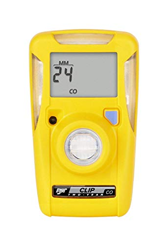 BW Technologies BWC2-M BW Clip Single Gas CO Monitor, 35 200