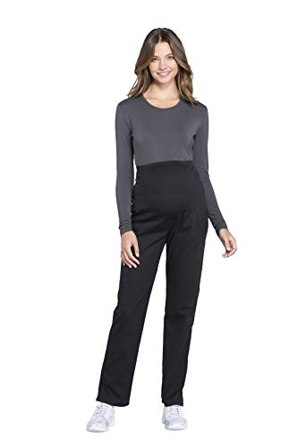 Cherokee Workwear Professionals WW220 Women's Maternity Soft Knit Waistband Scrub Pant