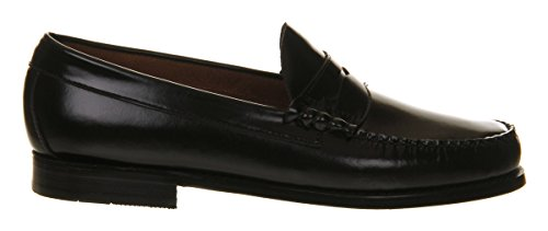 H Larson Black Penny Leather G UK 9 Bajo dwSdv