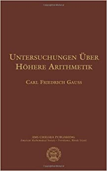 Book Untersuchungen Uber Hohere Arithmetik (AMS Chelsea Publishing)