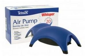 31MVT6EuzpL - Tetra 77852 Whisper Air Pump, 20-Gallon