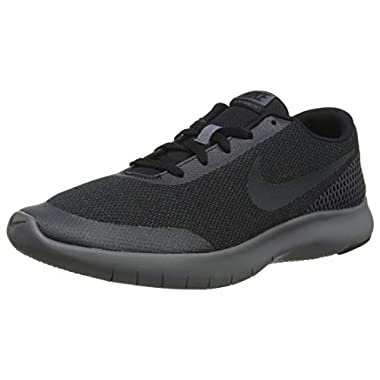 new style 54822 adc92 Nike Kids Flex Experience Rn 7 (GS) Black Anthracite Dark Grey Running