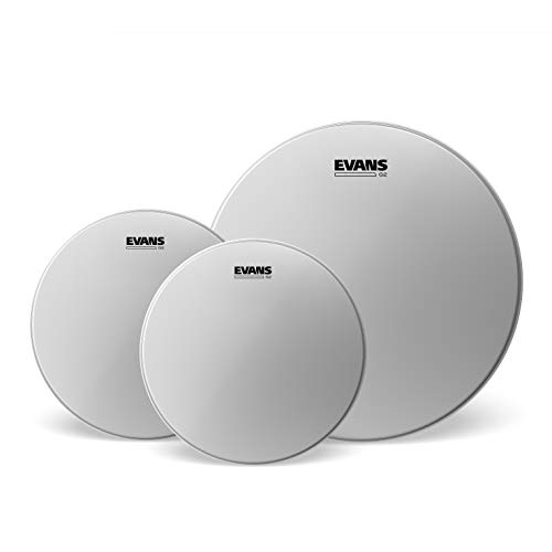 Evans G2 Tompack, Coated, Rock (10 inch, 12 inch, 16 inch) (Best Snare Drum Head For Rock)