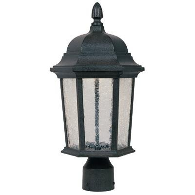 Designers Fountain LED2776-DWD Abbington-LED Post Lanterns, (Driftwood Column)