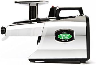 Tribest gse-5000r-b Green Star Elite Jumbo doble Gear fría prensa ...