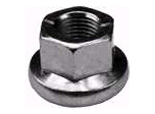 - 137266, 139729, Spindle Pulley Lock Nut for Craftsman, Poulan, Wizard, Husqvarna, AYP, More