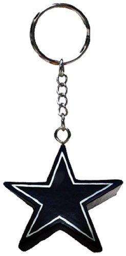 NFL Dallas Cowboys 4-in-1 Foam Keychain ()