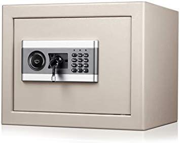 Caja Fuerte, Caja de Seguridad Caja Fuerte Digital Que Incluye Estructura de Acero con Llave Alarma incorporada Negra 37 * 31 * 30 cm Caja de Almacenamiento (Color : Gray): Amazon.es: Electrónica