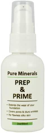 Pure Minerals Prep and Prime Foundation, 2oz
