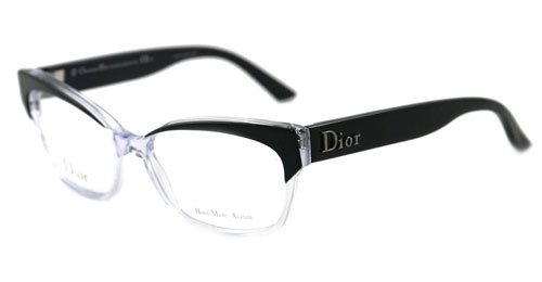 09e99c70d7c Christian Dior 3197 Eyeglasses 0K4X BLACK CRYSTAL BLACK  Amazon.ca  Sports    Outdoors