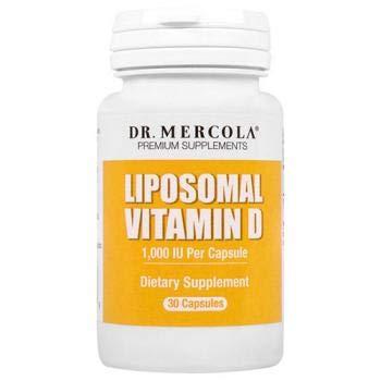 Liposomal Vitamin D - 1.000 IU (30 capsules) - Dr. Mercola: Amazon.es: Alimentación y bebidas