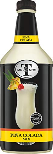 Mr & Mrs T Pina Colada Mix, 1.75 Liter Bottle (Pack of 6)
