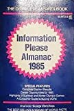 Information Please Almanac, 1985, Information Please, 0395366992