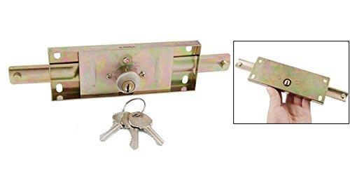 eDealMax Magazzino Garage hardware in metallo SERRANDA Door Lock + 3 Pz Chiavi