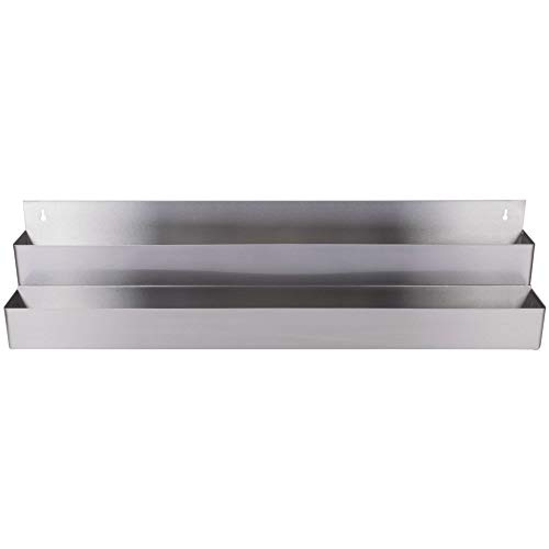 TableTop King Stainless Steel Double Tier Speed Rail - 42'' by TableTop King (Image #1)