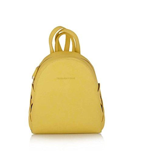 Zainetto Donna Ecopelle | Trussardi Jeans Dahlia | 75B0034599999-Yellow