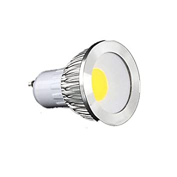 Bombillas, bombillas de inicio, GU10 Focos LED MR16 1 COB 450 lm Blanco Cálido Blanco Fresco Blanco Natural K Regulable AC 100-240 V Bulbos: Amazon.es: ...