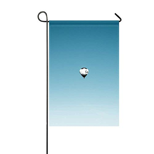 (DongGan Garden Flag Balloon Sky Flight 12x18 Inches(Without Flagpole))