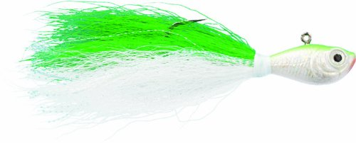 Spro Bucktail Jig-Pack of 1, Chartreuse, 1/2-Ounce (Bucktail 1/2 Oz Jigs)